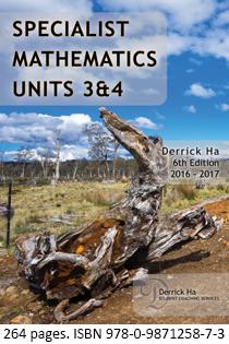 Specialist Maths Book